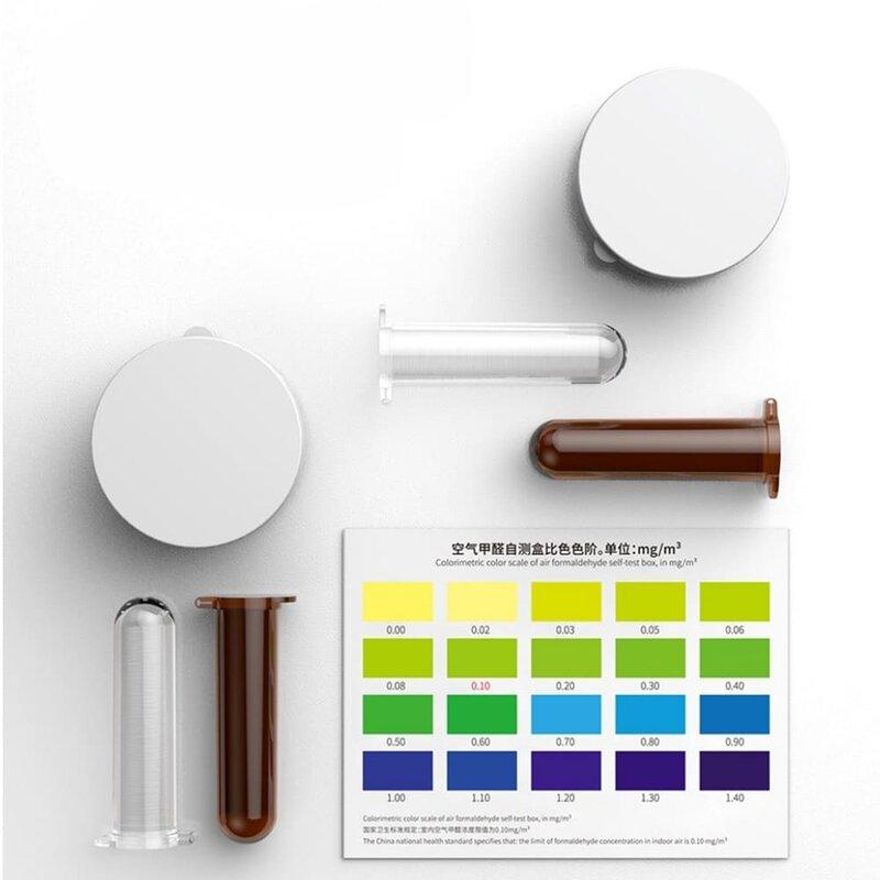 Test auto verificare puritate aer Baseus kit formaldelhida, alb, ACJHQ-01-1