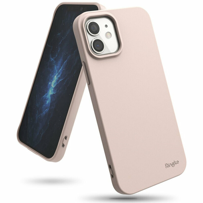 Husa iPhone 12 Ringke Air S - Pink Sand