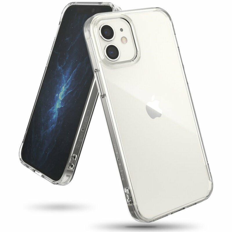 Husa iPhone 12 Ringke Fusion - Clear