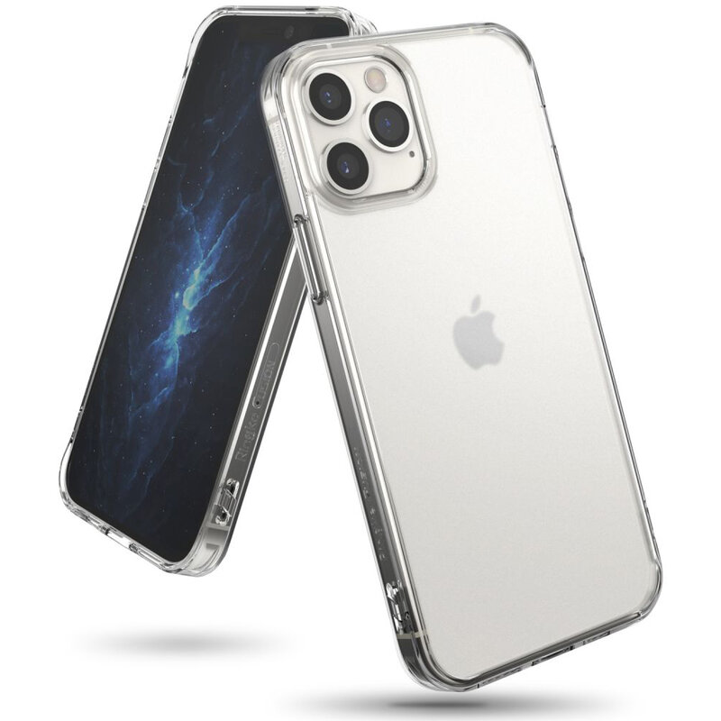 Husa iPhone 12 Pro Ringke Fusion Matte - Clear