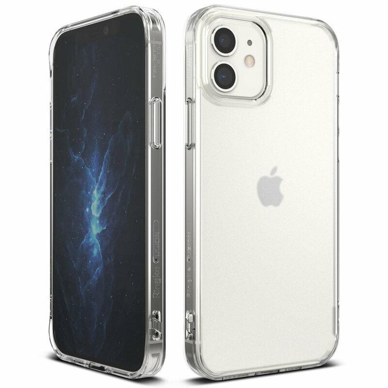 Husa iPhone 12 Ringke Fusion Matte - Clear