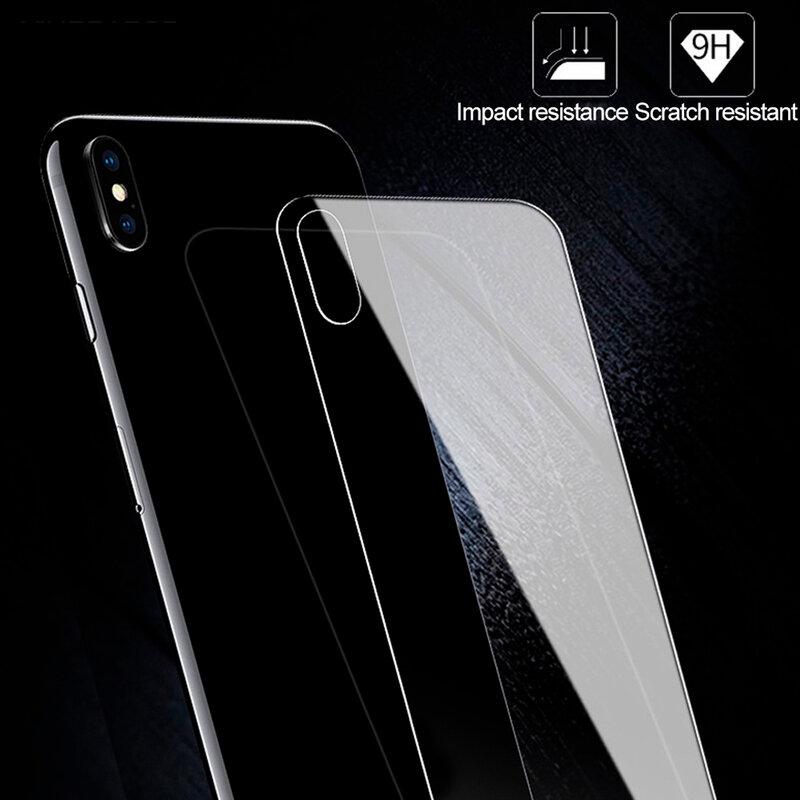 Folie iPhone 12 mini Hofi Back Hybrid Glass - Clear