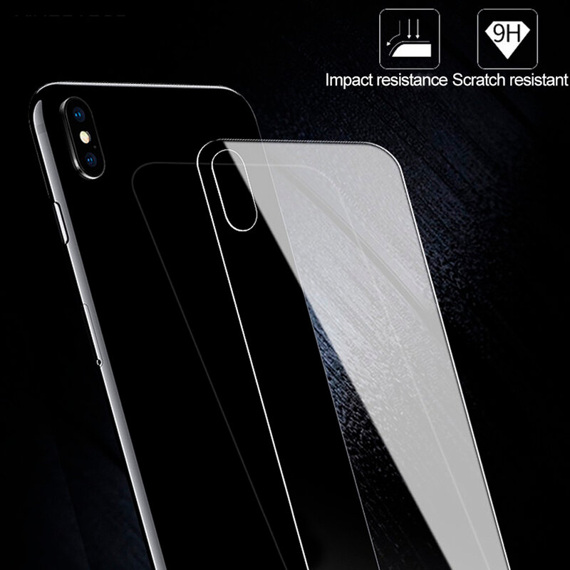Folie iPhone 12 Pro Hofi Back Hybrid Glass - Clear