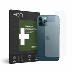 Folie iPhone 12 Pro Max Hofi Back Hybrid Glass - Clear