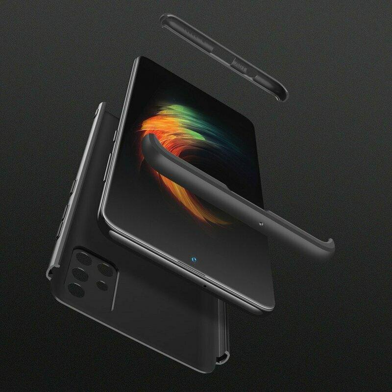 [Pachet 360°] Husa + Folie Samsung Galaxy A51 GKK Original - Negru