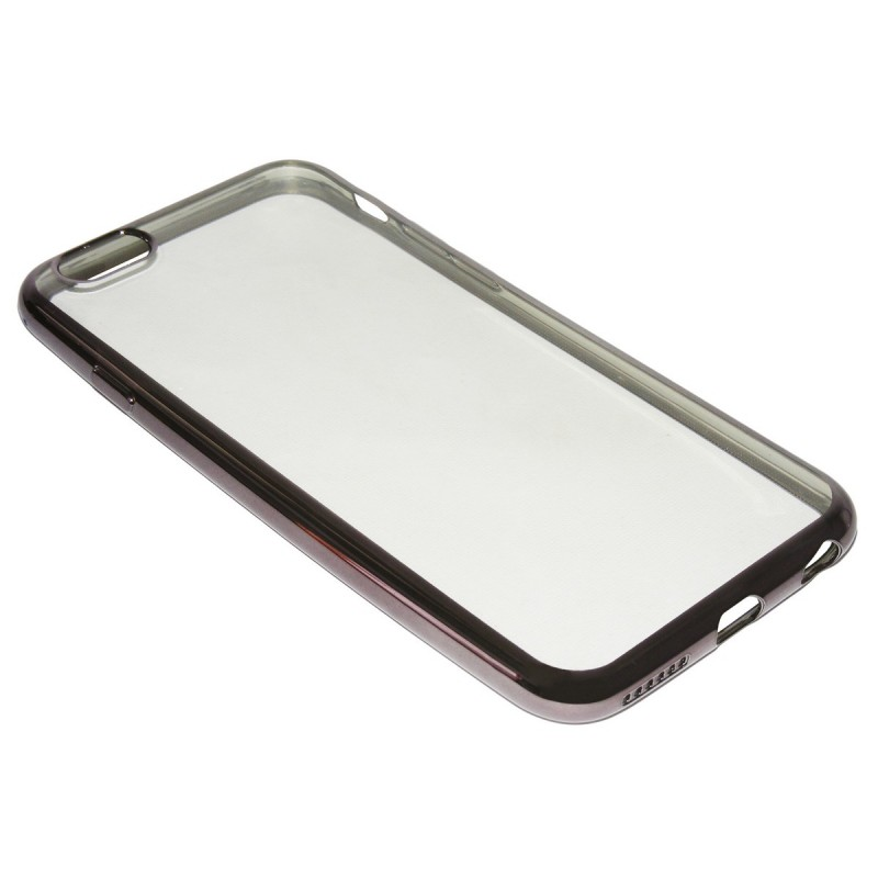 Husa Iphone 6, 6s TPU Electro Transparent-Fumuriu