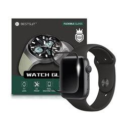 Folie Apple Watch 6 44mm Bestsuit Flexible Nano Glass 5H - Negru
