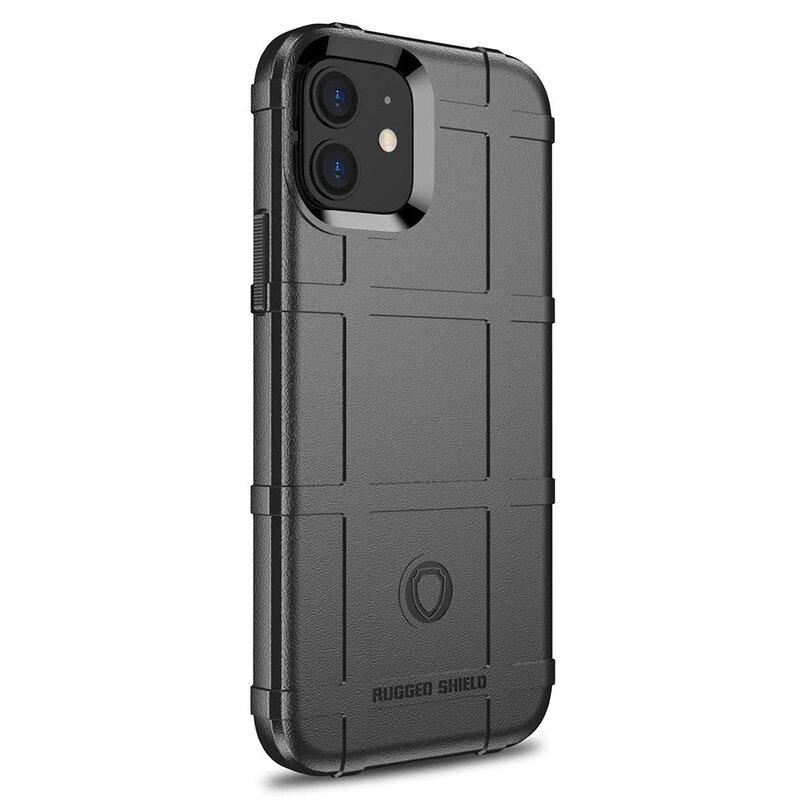Husa iPhone 12 mini Mobster Rugged Shield - Negru