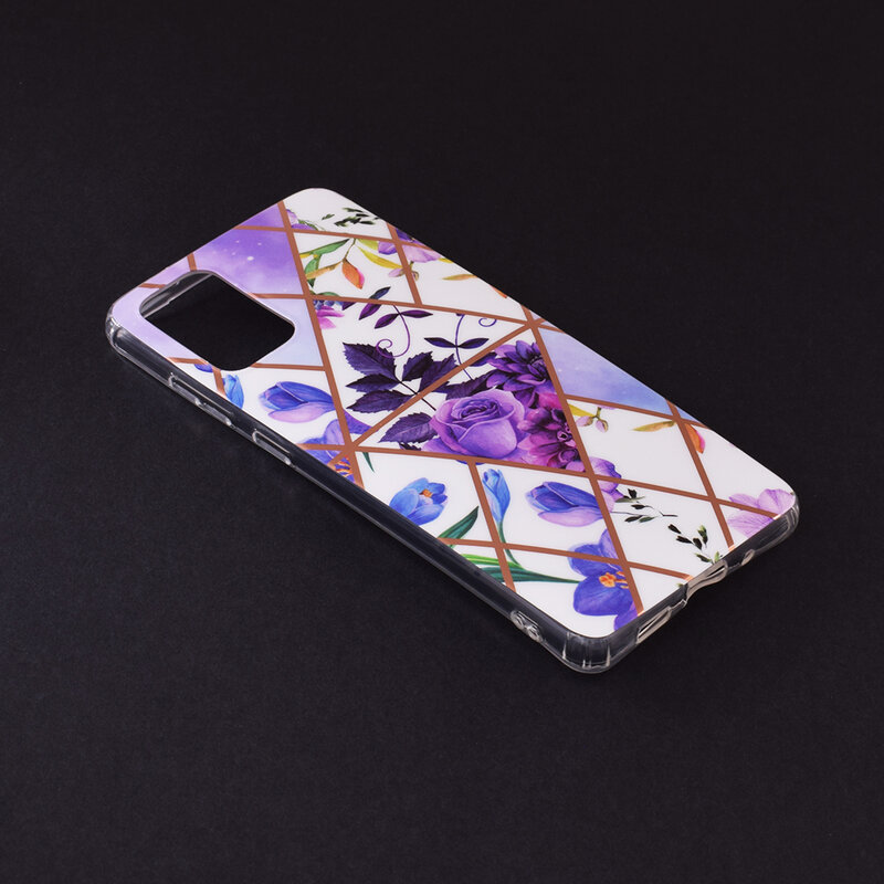 Husa Samsung Galaxy S20 Plus 5G Mobster Laser Marble Shockproof TPU - Model 2