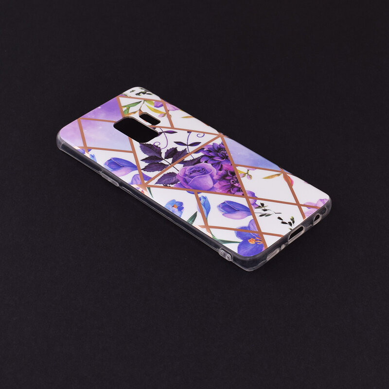 Husa Samsung Galaxy S9 Mobster Laser Marble Shockproof TPU - Model 2