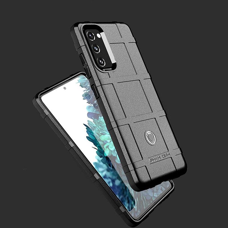 Husa Samsung Galaxy S20 5G Mobster Rugged Shield - Albastru