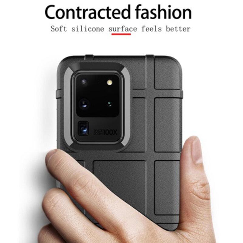 Husa Samsung Galaxy S20 Ultra 5G Mobster Rugged Shield - Negru