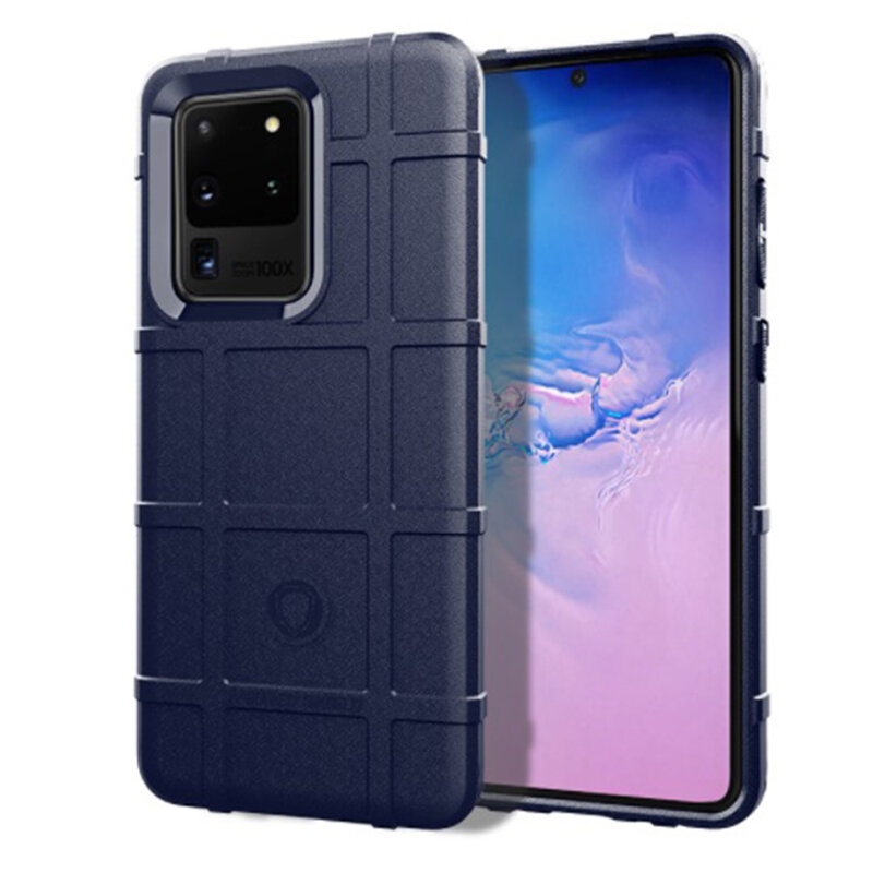 Husa Samsung Galaxy S20 Ultra 5G Mobster Rugged Shield - Albastru