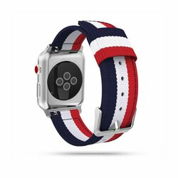 Curea Apple Watch 1 42mm Tech-Protect Welling - Navy/Red