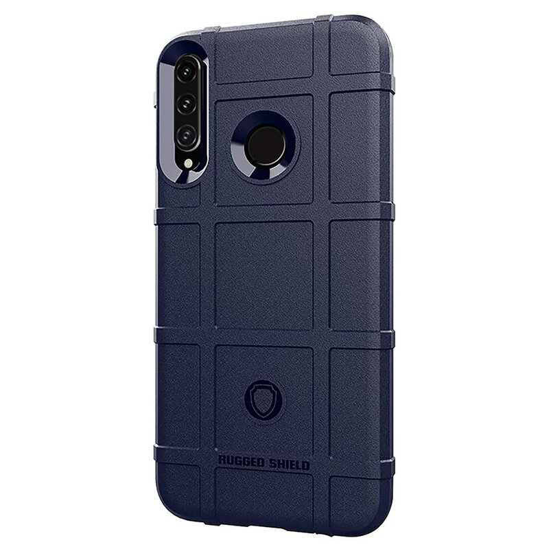 Husa Huawei P40 Lite E Mobster Rugged Shield - Albastru