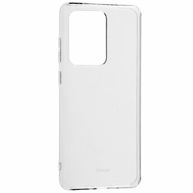Husa Samsung Galaxy S20 Ultra 5G Roar Colorful Jelly Case - Transparent
