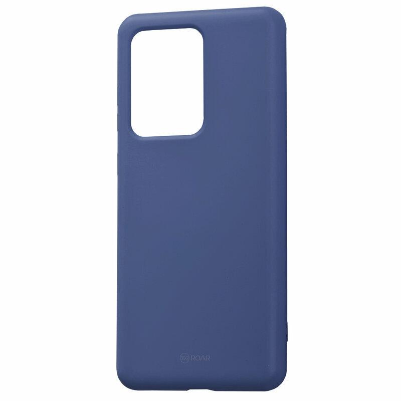 Husa Samsung Galaxy S20 Ultra 5G Roar Colorful Jelly Case - Albastru Mat