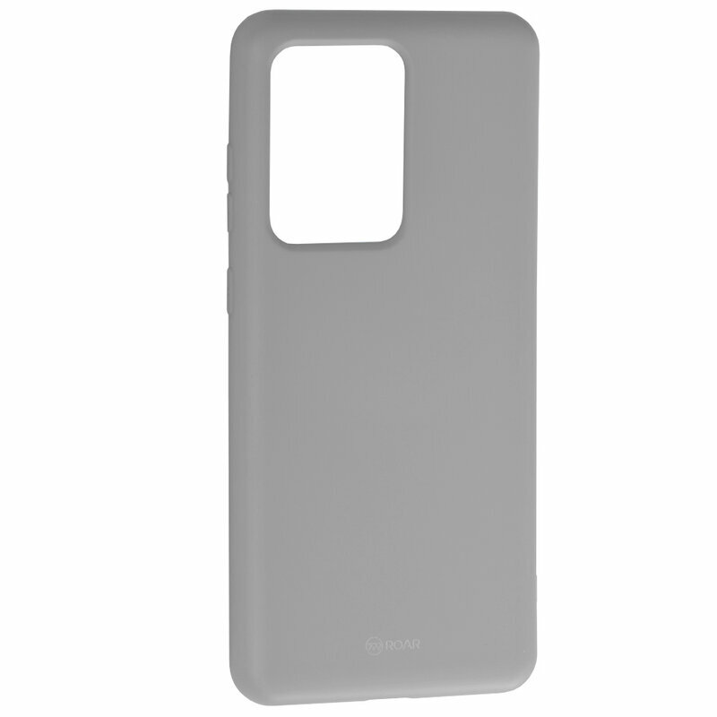 Husa Samsung Galaxy S20 Ultra 5G Roar Colorful Jelly Case - Gri Mat
