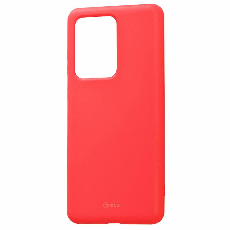 Husa Samsung Galaxy S20 Ultra 5G Roar Colorful Jelly Case - Roz Mat