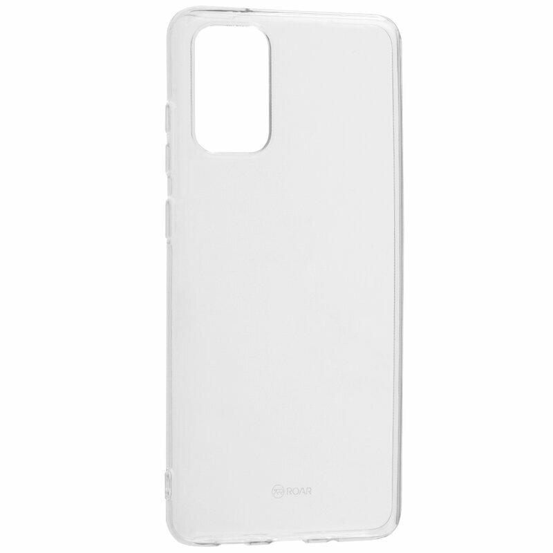 Husa Samsung Galaxy S20 Plus 5G Roar Colorful Jelly Case - Transparent