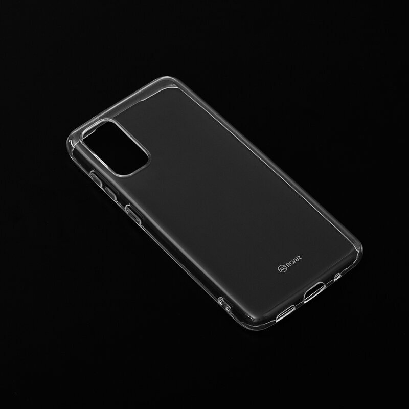 Husa Samsung Galaxy S20 5G Roar Colorful Jelly Case - Transparent
