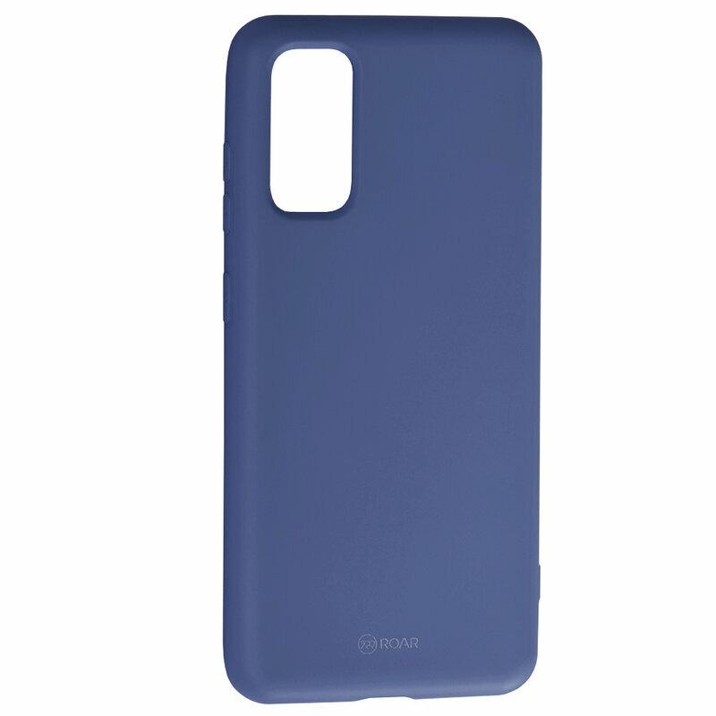 Husa Samsung Galaxy S20 5G Roar Colorful Jelly Case - Albastru Mat