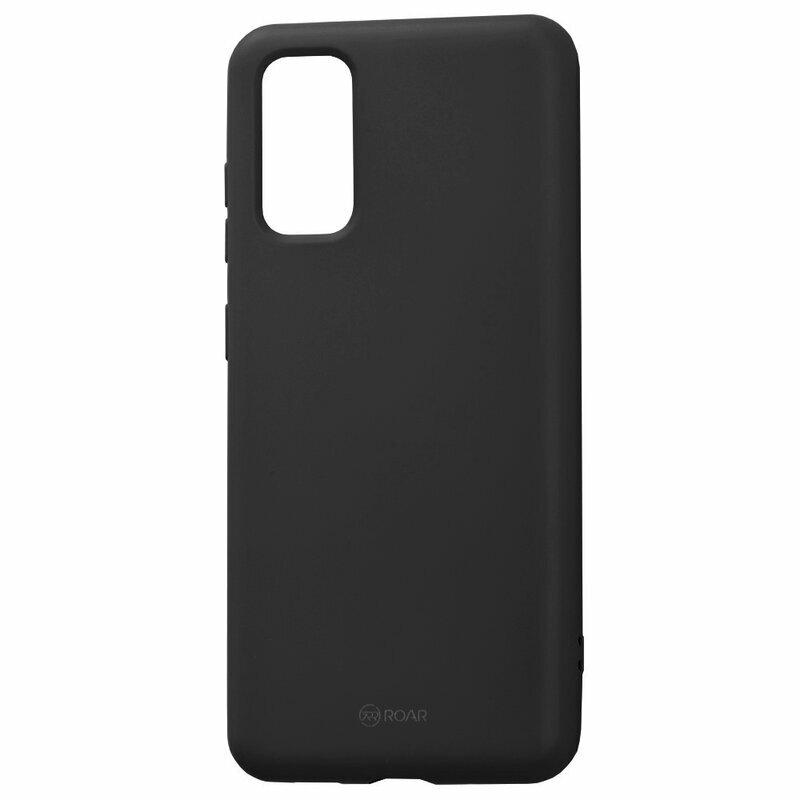 Husa Samsung Galaxy S20 5G Roar Colorful Jelly Case - Negru Mat