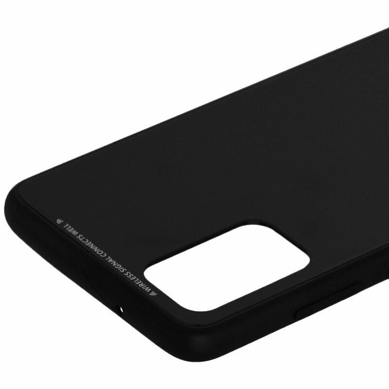 Husa Samsung Galaxy S20 Plus 5G Glass Series - Negru