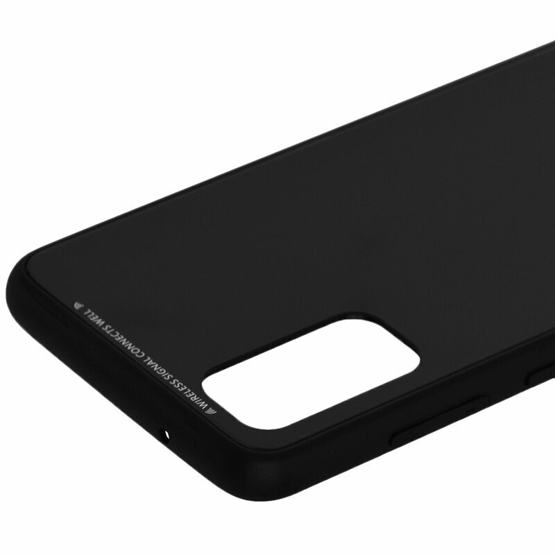 Husa Samsung Galaxy S20 5G Glass Series - Negru