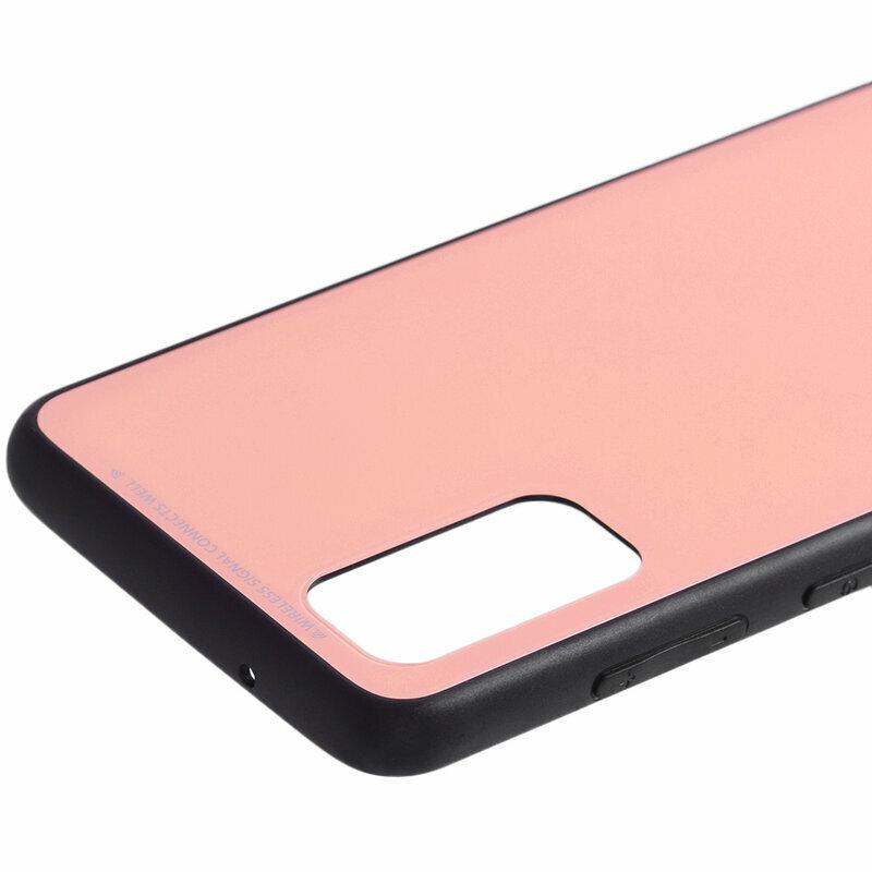 Husa Samsung Galaxy S20 5G Glass Series - Roz