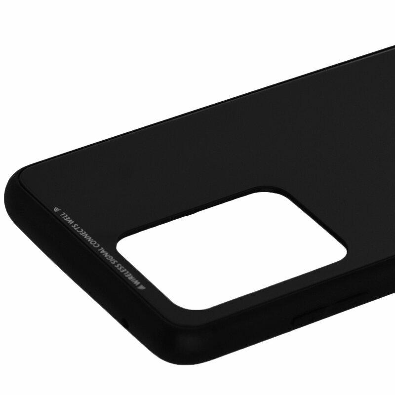 Husa Samsung Galaxy S20 Ultra 5G Glass Series - Negru