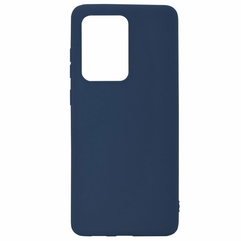 Husa Samsung Galaxy S20 Ultra 5G Soft TPU - Albastru