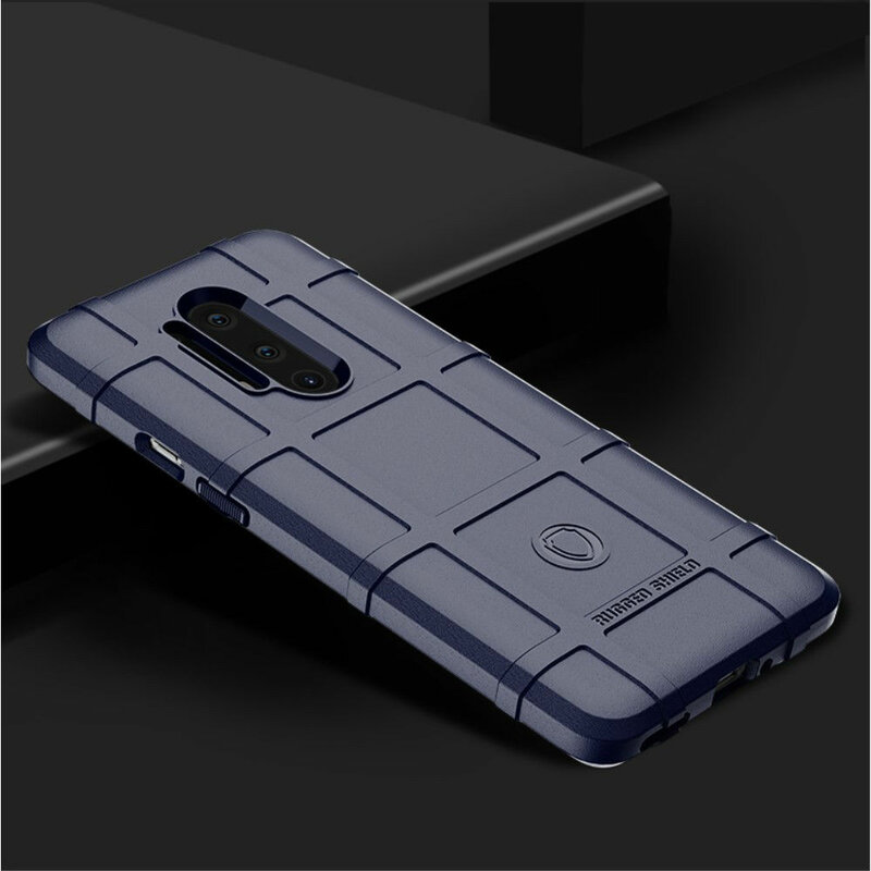 Husa OnePlus 8 Pro Mobster Rugged Shield - Albastru