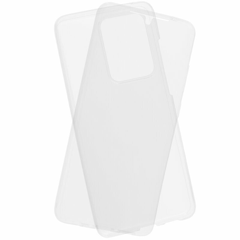 Husa Samsung Galaxy S20 Ultra 5G TPU UltraSlim 360 Transparent