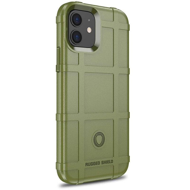 Husa iPhone 12 Mobster Rugged Shield - Verde