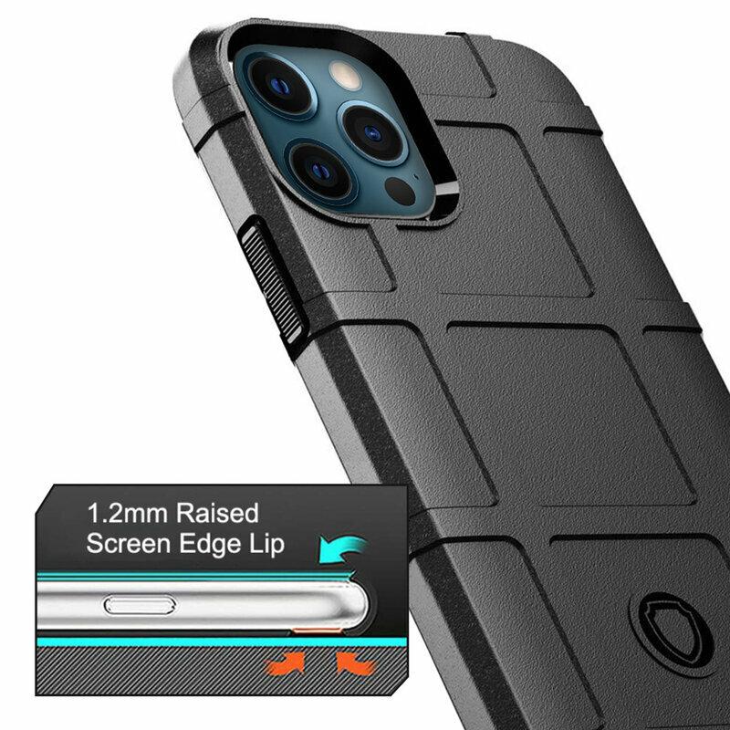Husa iPhone 12 Pro Max Mobster Rugged Shield - Negru