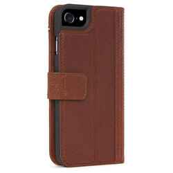 Husa iPhone 6 / 6S Decoded Wallet Case Cu Inchidere Magnetica Din Piele Ecologica - Maro