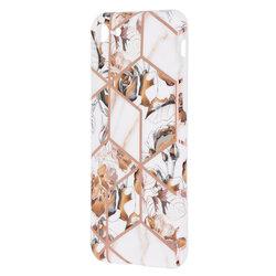 Husa iPhone 7 Mobster Laser Marble Shockproof TPU - Model 1