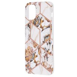Husa iPhone 12 mini Mobster Laser Marble Shockproof TPU - Model 1