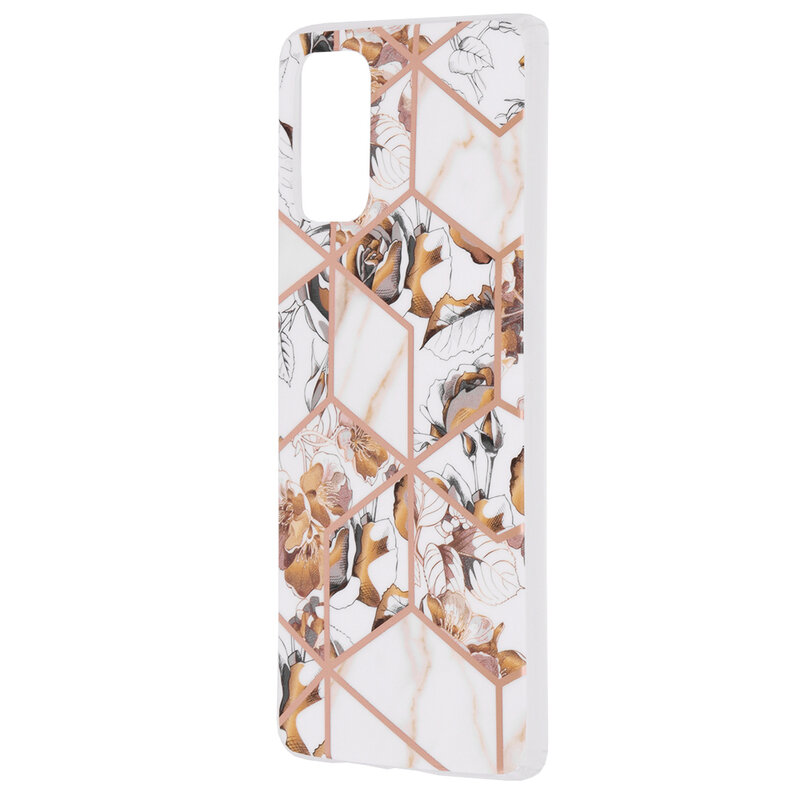 Husa Samsung Galaxy S20 Plus 5G Mobster Laser Marble Shockproof TPU - Model 1