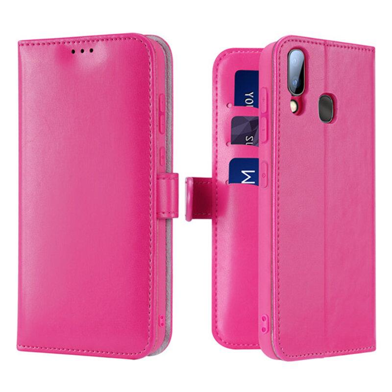 Husa Samsung Galaxy A40 Dux Ducis Kado Series Book - Roz