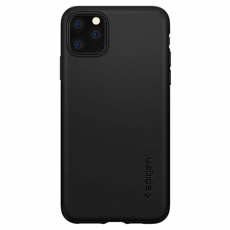 Husa iPhone 11 Pro Spigen Thin Fit Classic - Black