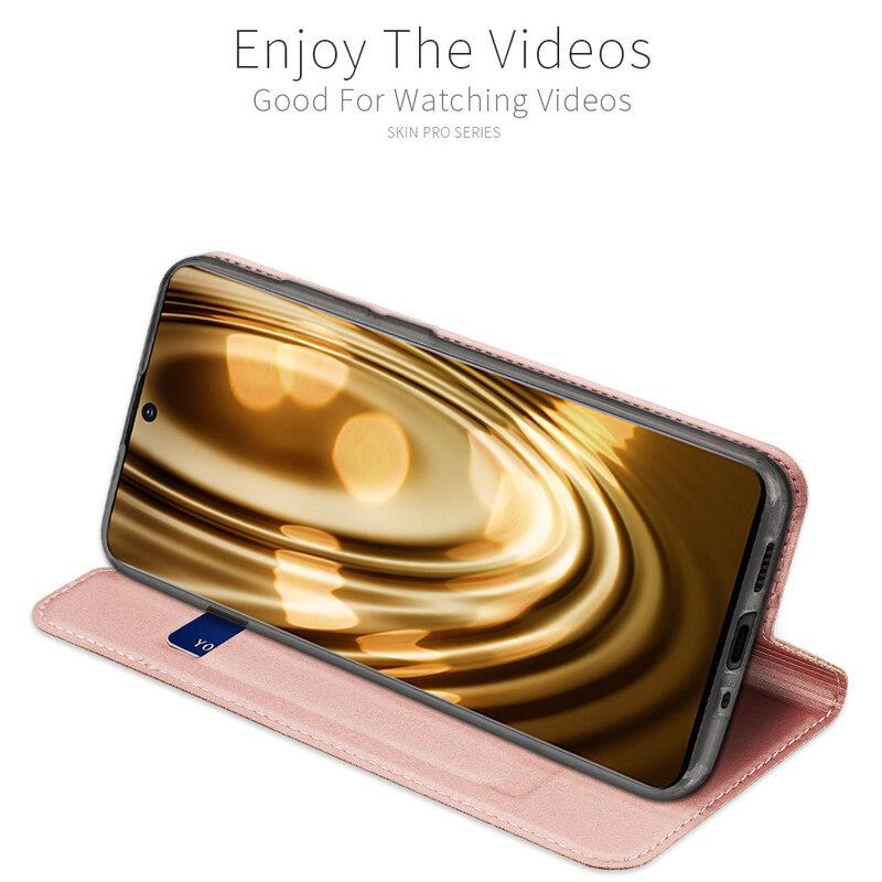 Husa Samsung Galaxy S20 Plus Dux Ducis Skin Pro - Roz