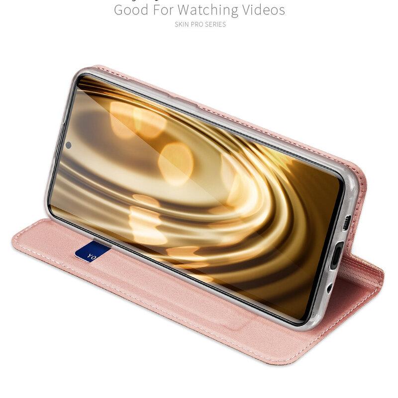 Husa Samsung Galaxy S20 Ultra 5G Dux Ducis Skin Pro - Roz