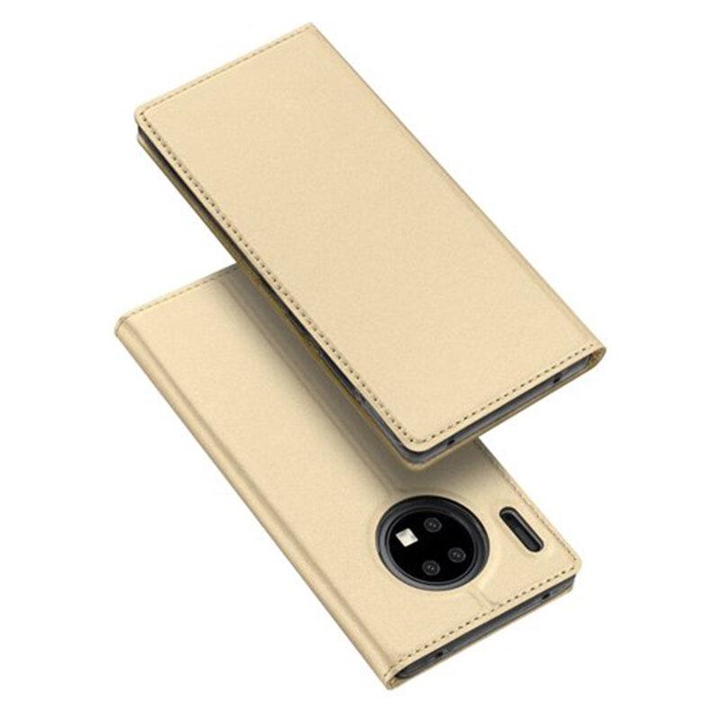 Husa Huawei Mate 30 Pro Dux Ducis Flip Stand Book - Auriu