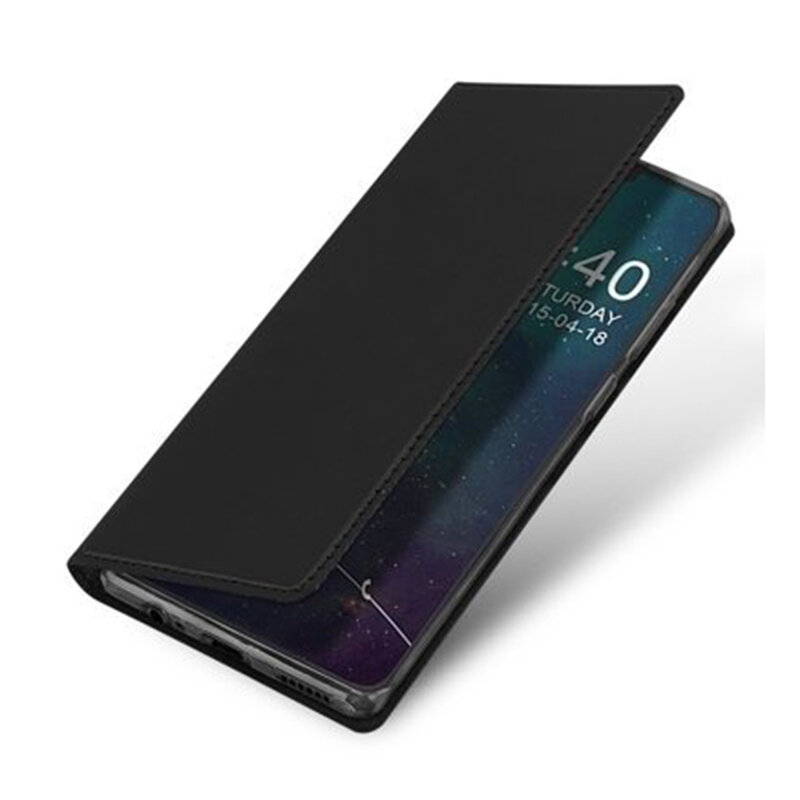 Husa Huawei Mate 30 Dux Ducis Flip Stand Book - Negru