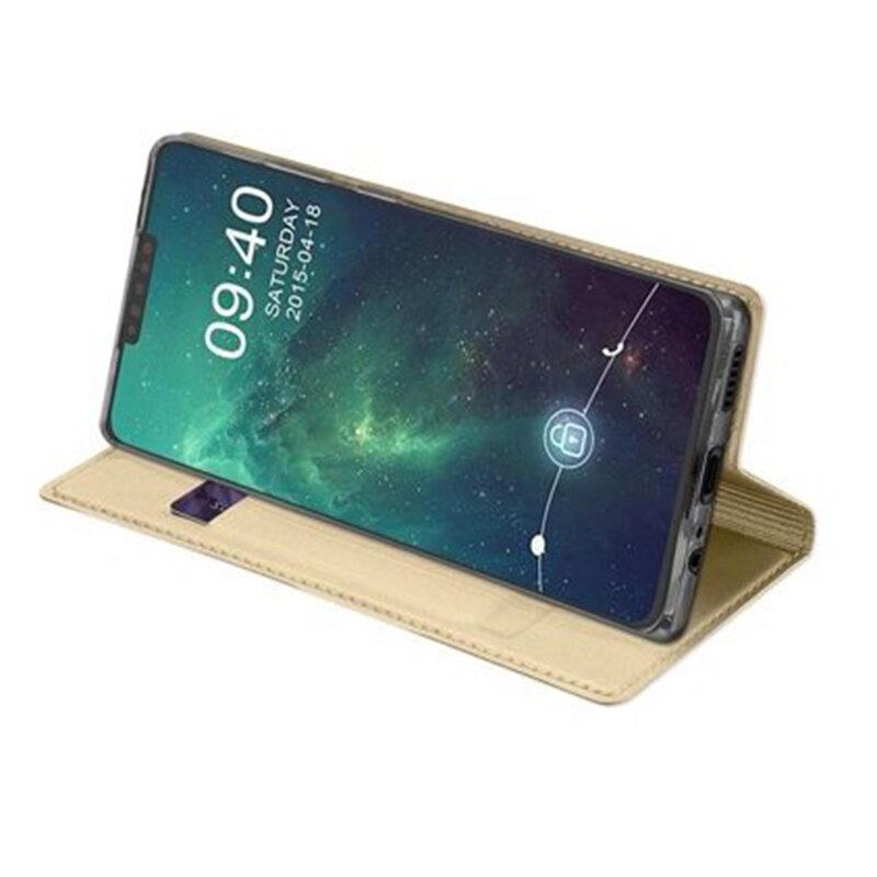 Husa Huawei Mate 30 Dux Ducis Flip Stand Book - Auriu