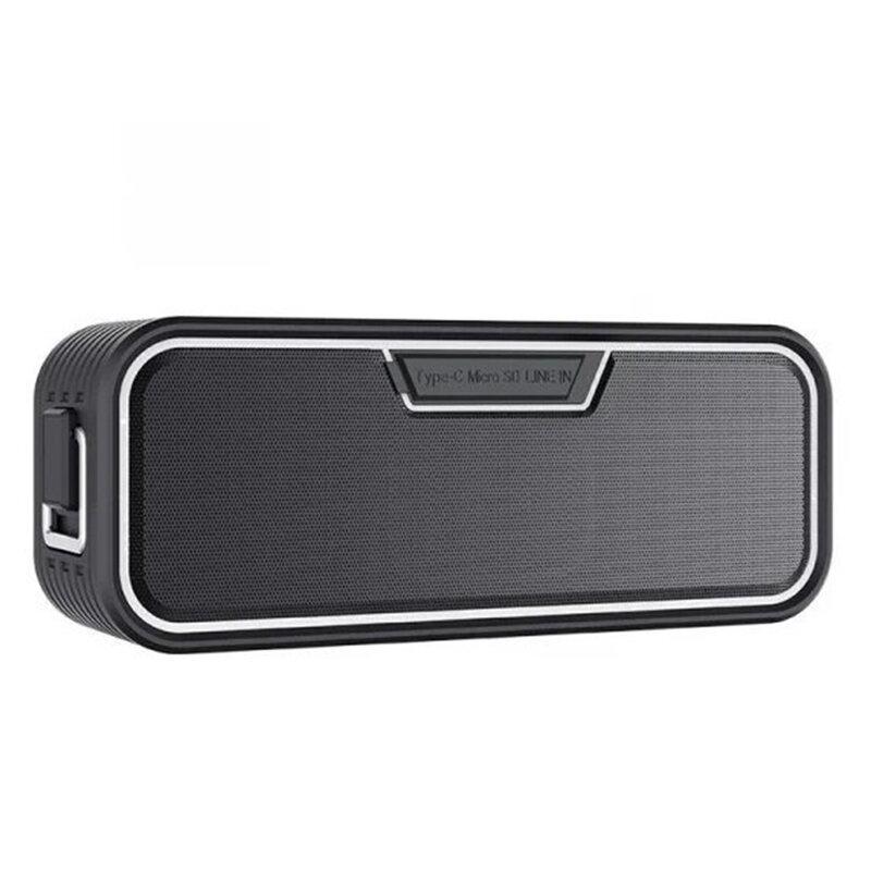 Boxa Portabila Waterproof Nillkin W2 Cu Bluetooth 5.0/ Type-C/ AUX/ TF 20W - Negru