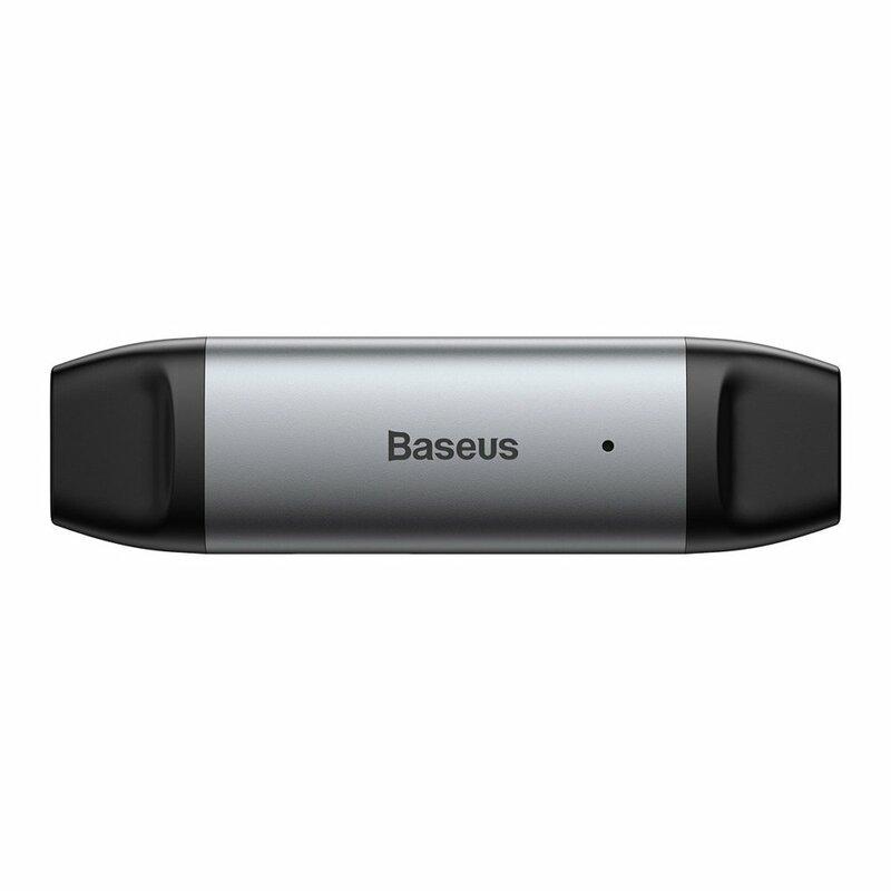 Card Reader Baseus SD / micro-SD / TF USB / Type-C 5Gbps - CADKQ-B0G - Gri