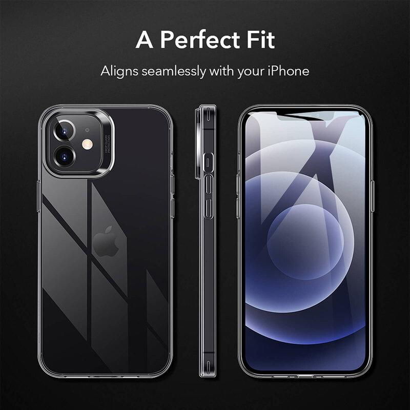 Husa iPhone 12 mini ESR Project Zero Din Poliuretan Transparent - Clear